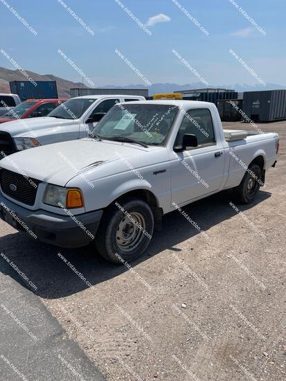 2001 FORD RANGER 2WD