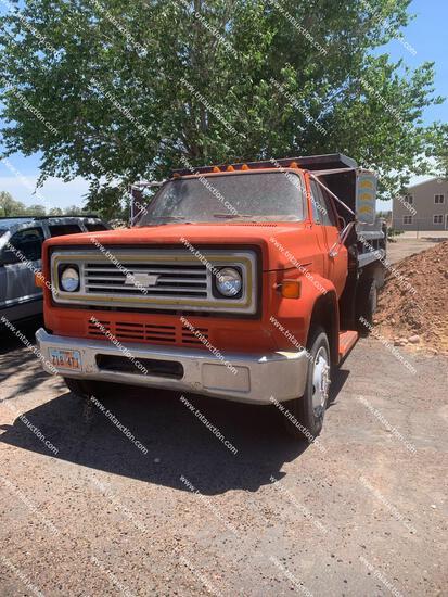 1984 CHEV C60 DUMP - LOCATED IN ROOSEVELT, UTAH