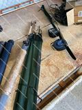 FISHING POLES AND FLY RODS
