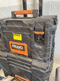 RIDGID TOOLBOX W/ TOOLS