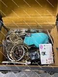 BOX W/ JEWELRY