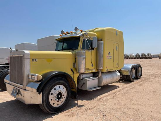 1999 Peterbilt 379 Truck, VIN # 1XP5D69XXXD460555