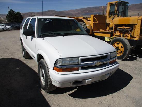 2004 CHEV S10 BLAZER