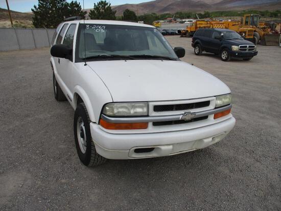 2003 CHEV S10 BLAZER