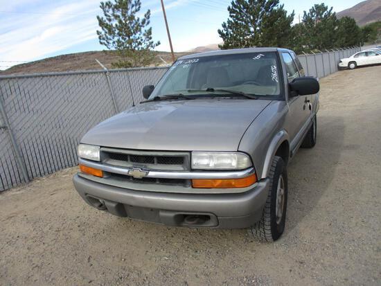 2001 CHEV S10 PICKUP