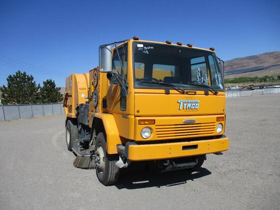 2003 TYMCO/FREIGHTLINER DST-6 SWEEPER