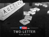My Plates Two-Letter Auction