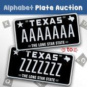 My Plates Alphabet Auction 2017