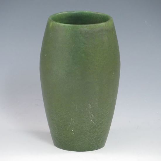 Grueby Matte Green Vase