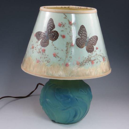 Van Briggle Lamp - Mint