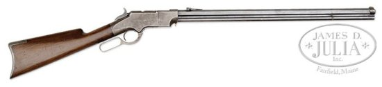 EXTREMELY RARE IRON FRAME MODEL 1860 HENRY LEVER ACTION RIFLE.
