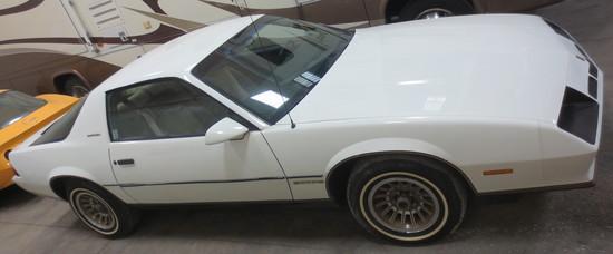 1984 White Camaro Berlinetta