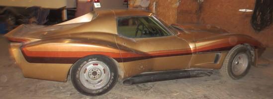 1969 Rust Colored Corvette