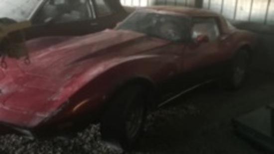 1978 Red Corvette