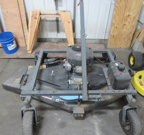 """Fast Finish 66"""" Pull Behind Mower"""