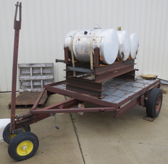 Trailer With Tanks