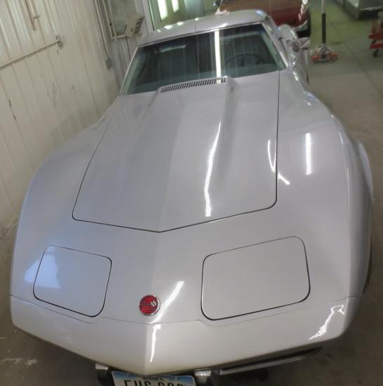 1976 Corvette Stingray Silver Color