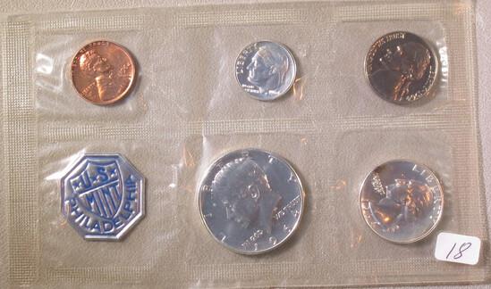 1964 Mint Coins Philidelphia