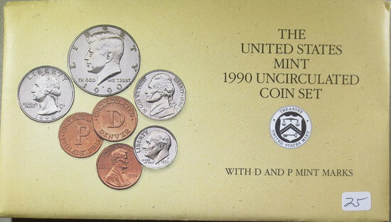 1990 Mint Set