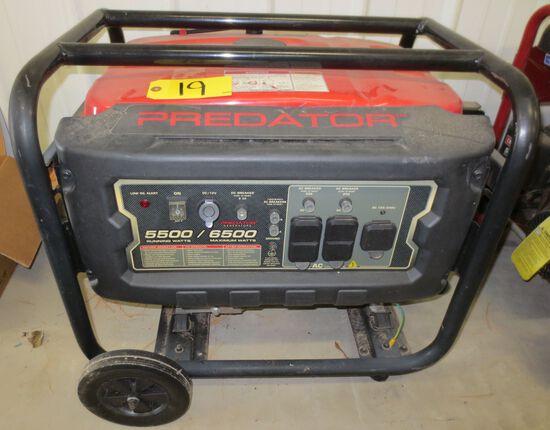 Predator Generator 6500 Max Watts