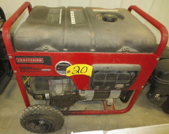 Craftsman 5600 Watt Generator (Possibly Used)