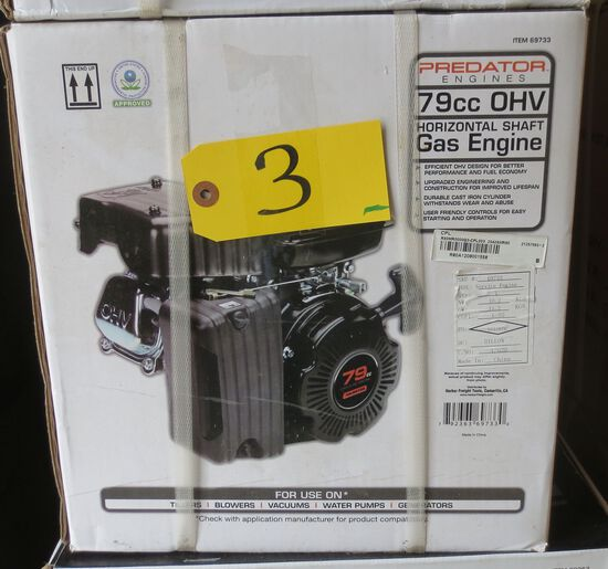 79 cc Horizontal Shaft Gas Engine