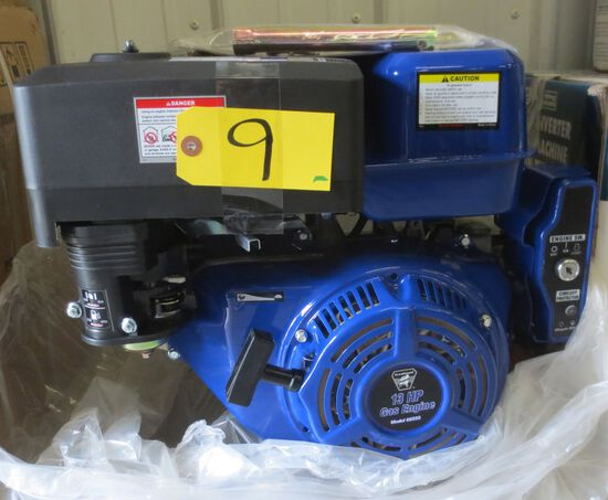 13 hp Horizontal Shaft Gas Engine