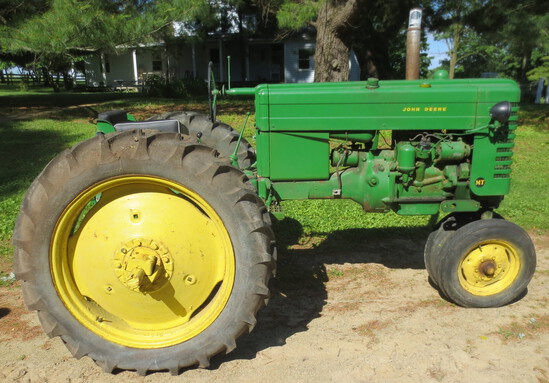 Estate Tractors and Motorcycles