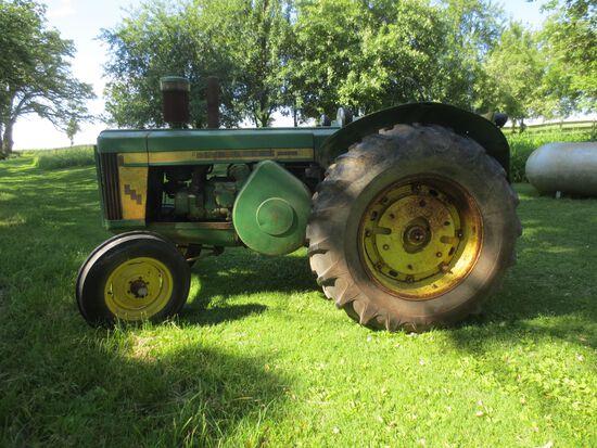1956 John Deere 820 Diesel Tractor