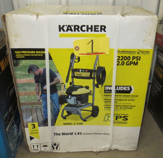Karcher Gas Pressure Washer