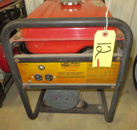 Chicago Electric 2800 Watt Generator