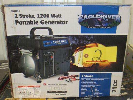 1200 Watt Portable Generator