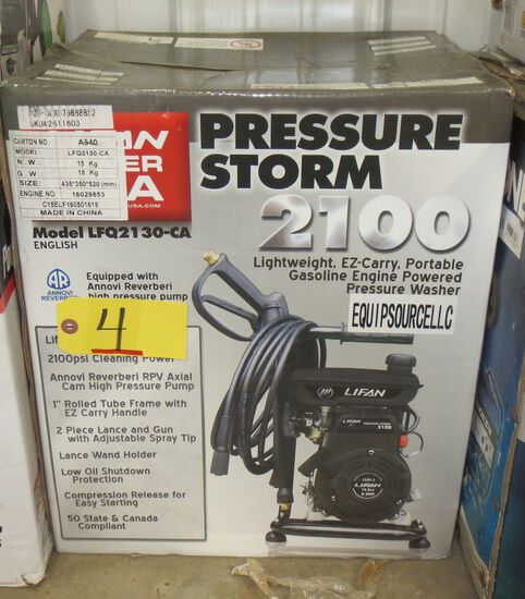 2100 PSI Gas Pressure Washer