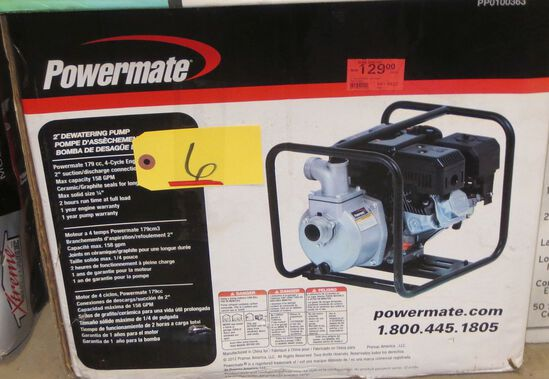 "Powermate 2"" Dewatering Pump"