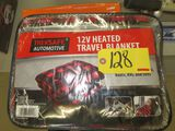 12 V Heated Travel Blanket