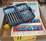 Carbide Shaper Bits, Screwdriver Kit