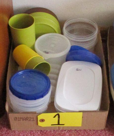 Misc. Plastic ware