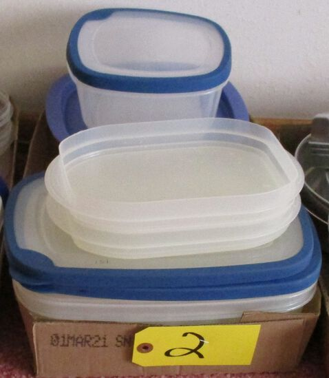 Rubbermaid Containers