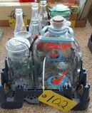 Old Soda Bottles, Ball Mason Jars, Milk Jug