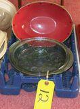Pie Dish, Watermelon Bowls