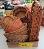 Misc. Wicker baskets