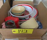 Holiday Trays, Plastic Bowls, Cookie Cutters