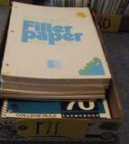 Notebooks, Sheet Paper