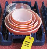 Pyrex Nesting Bowls and Covered Dish
