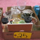 Asst. Glassware, 2 Glass Even Flow Baby Bottles