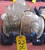 Misc. Glassware, Vases, Pitcher