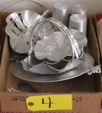 Aluminum Cups and Baskets