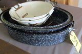 Roaster, Pie Plate, Paula Dean Bowls