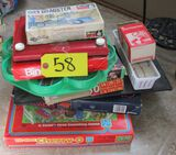 Cherry-O , Checkers, Etch a Sketch, Misc. Games, Slide Viewer and Slides