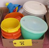 Plastic Storage Containers, Funnels